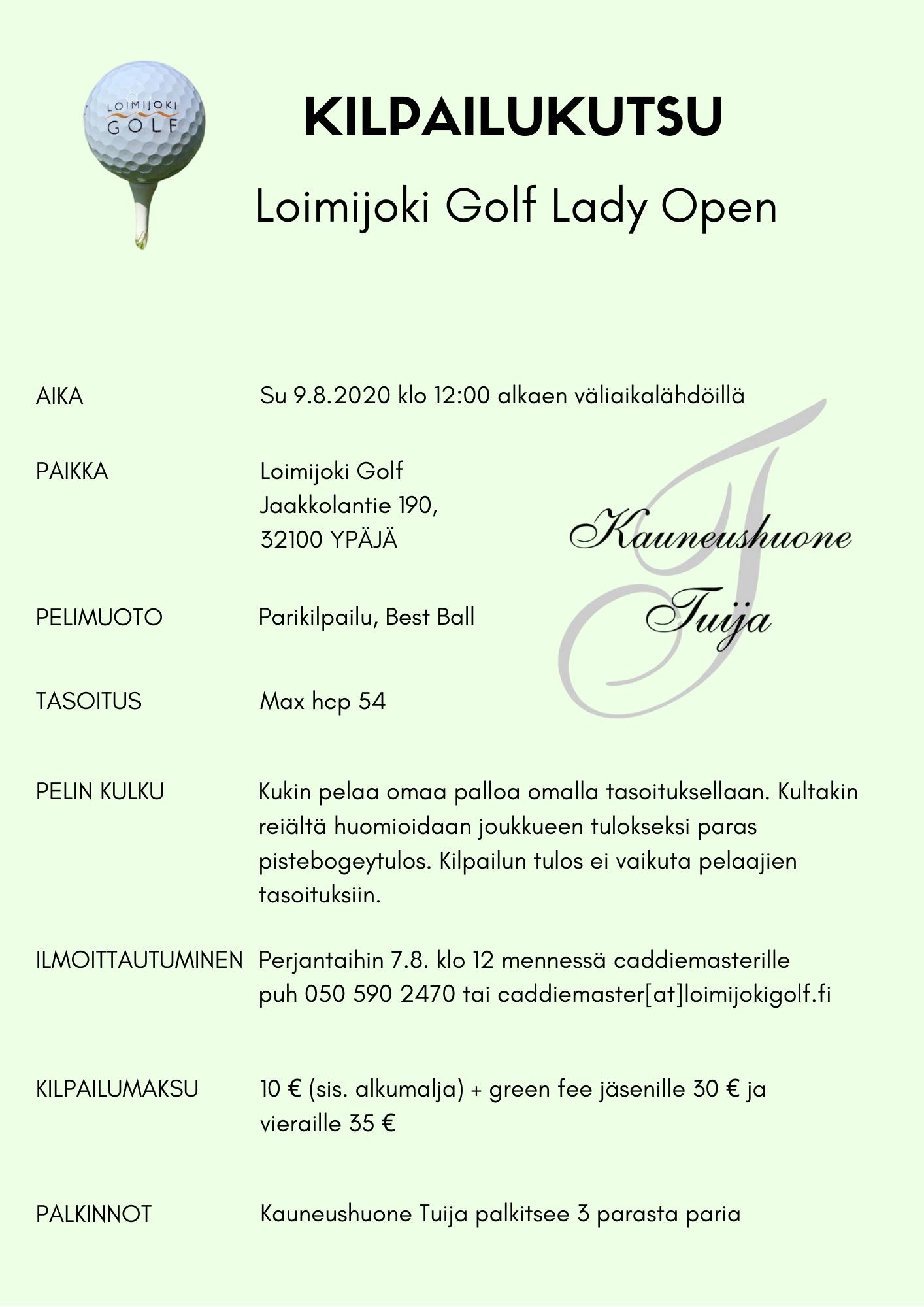 Loimijoki Golf Lady Open