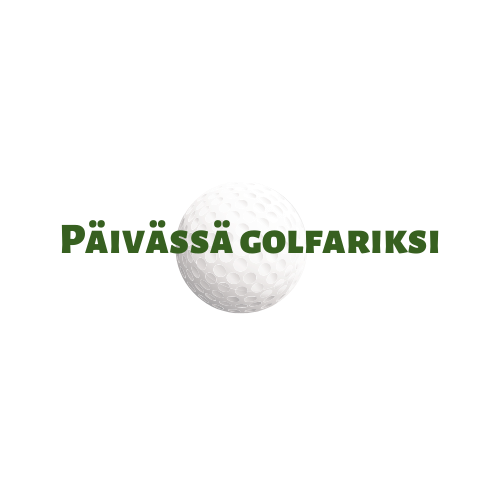 Päivässä golfariksi -logo