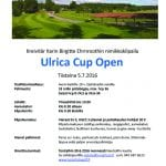 Ulrica Cup Open 2016 kutsu kopio
